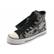 All Star Converse Batman Gris Imprimé Noir