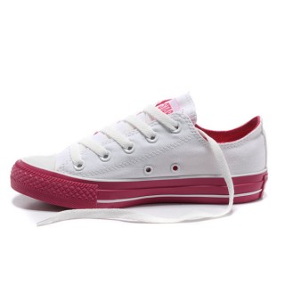 All Star Converse Blanc Rouge