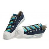 All Star Converse Bleu Sans Dentelle