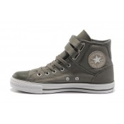 All Star Converse Boucle Double Gris
