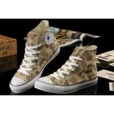 All Star Converse Camouflage Ocre Jaune