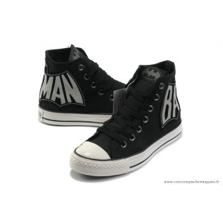Batman Converse All Star Chaussures Noir