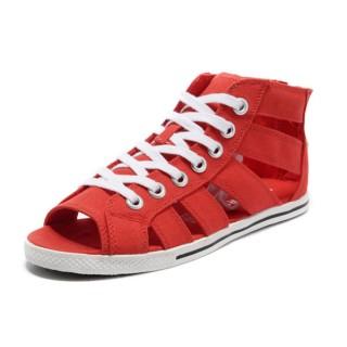 Chaussures Converse Par Avril Laigne Rouge