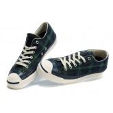 Chaussures Converse Plaid Vert Britpop
