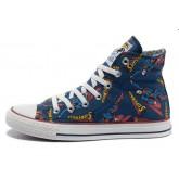 Chaussures Converse Superman Imprimé Bleu