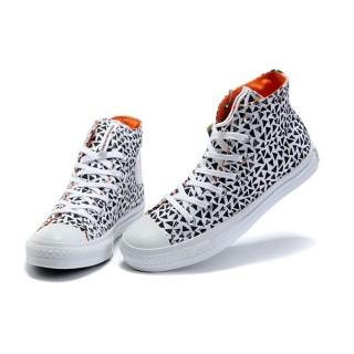 Chaussures Converse Triangle Noir Impression Marimekko