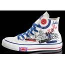 Chaussures Converse Uk Flag Semelles Blanches
