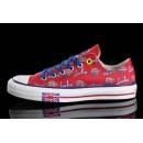 Chaussures Converse Uk Flag Semelles Rouges