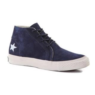 Chaussures Converse Une étoile Cuir Blue Ox