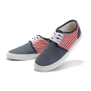 Chaussures Converse Usa Drapeau Blanc Rouge Bleu