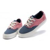 Chaussures Converse Usa Drapeau Rouge Bleu