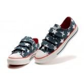 Chaussures Converse Usa Drapeau Velcro Bleu Blanc Rouge