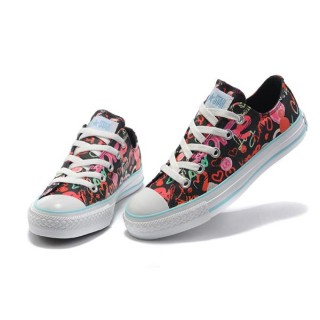 Converse Chuck Taylor All Star L'amour Vrai Graffiti Noir