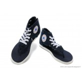 Converse Chuck Taylor All Star Zip Femme Sandale Stud Toile Navy