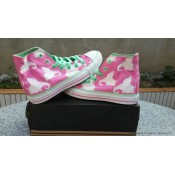 Chuck Taylor Converse All Star Femme Haute Toile Imprimer Dumbo Rose