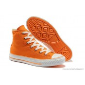 Chuck Taylor Converse All Star Femme Haute Toile Nacarat