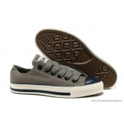 Converse All Star Basse Homme Toile Grise Noir