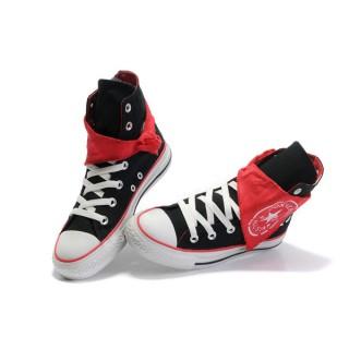 Converse Pas Cher Converse All Star écharpe Rouge Noir