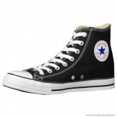 Converse All Star Haute Homme Toile Chaussures Noir Blanche