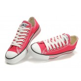 Converse All Star Soldes Lignes Ox Rose