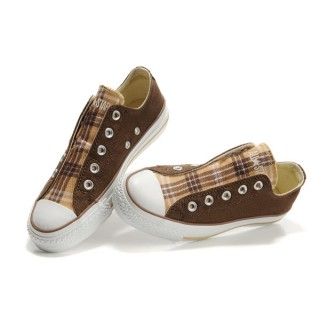 Converse All Star Soldes Marron Sans Dentelle