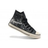Converse All Star Soldes New York Cartes Gris Noir