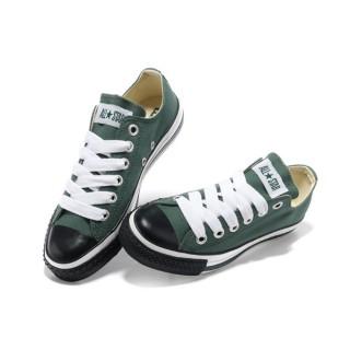 Converse All Star Soldes Noir Blanc Vert