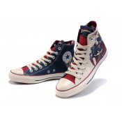 Converse All Star Pas Cher Superman Parchemin Beige Denim Foncé