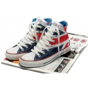 Converse All Star Pas Cher Uk Drapeau Rouge Bleu
