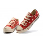 Converse All Star Pas Cher Usa Drapeau Chiffon Rouge