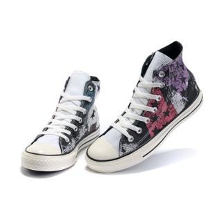 Converse All Star Pas Cher Usa Drapeau De Peinture Violet