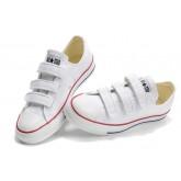 Converse All Star Pas Cher Velcro Blanc