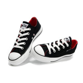 Converse All Star Pas Cher Zip Rouge Noir