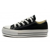Converse All Star Soldes Plate-forme Noir