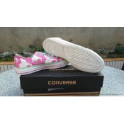 Converse Chuck Taylor All Star Basse Femme Toile Imprimer Dumbo Rose