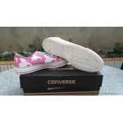 Converse Chuck Taylor All Star Basse Femme Toile Imprimer Dumbo Rose
