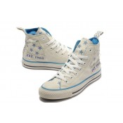 Converse Prix Chuck Taylor All Star Beige étoiles Bleues Blanches
