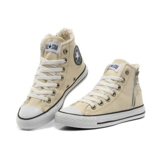 Converse Prix Chuck Taylor All Star Beige Sieste Douce Shearling Glissière