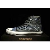 Converse Chuck Taylor All Star Haute Camo Stud Marron Bleu