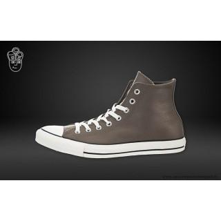 Converse Chuck Taylor All Star Haute Cuir Chaussures 140028c Morel Blanche
