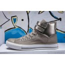 Converse Chuck Taylor All Star Haute Double Buckles Grise