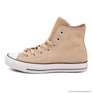 Converse Chuck Taylor All Star Haute Suede Beige