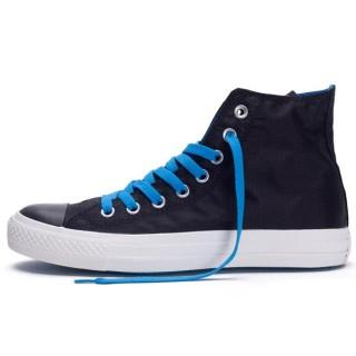 Converse Chuck Taylor All Star Lacets Bleus Noir
