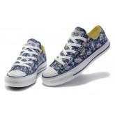 Converse Chuck Taylor All Star Logo Crayon Bleu Graffiti