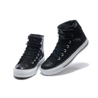 Converse Chuck Taylor All Star Noir Avec Deux Velcro