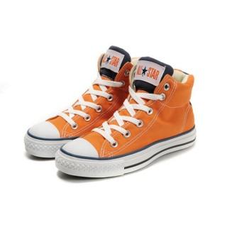 Converse Chuck Taylor All Star Orange Bleu Avec Du Coton
