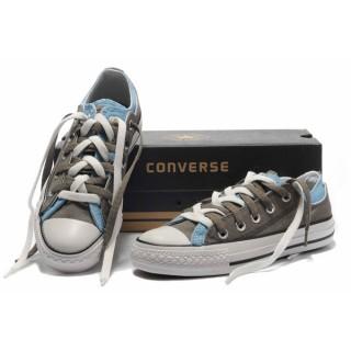 Converse Chuck Taylor All Star Plate-forme Gris Bleu