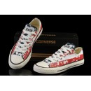 Converse France Chuck Taylor All Star Usa Drapeau Bleu Blanc Rouge