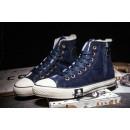 Converse Chuck Taylor All Star Zip Haute Bleu