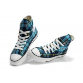 Converse France Chuck Taylor Plaid Bleu